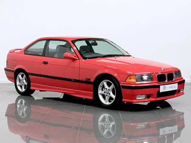 BMW 3 Series 2.5 325i Coupe Coupe Petrol Bright Red at Phil Presswood Specialist Cars Brigg