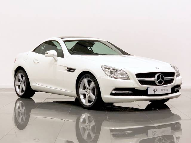 Mercedes-Benz 250 2.1 SLK 250 CDi Convertible Diesel Polar White at Phil Presswood Specialist Cars Brigg