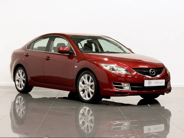 Mazda 6 2.0d SL 4dr Saloon Diesel Copper Red at Phil Presswood Specialist Cars Brigg