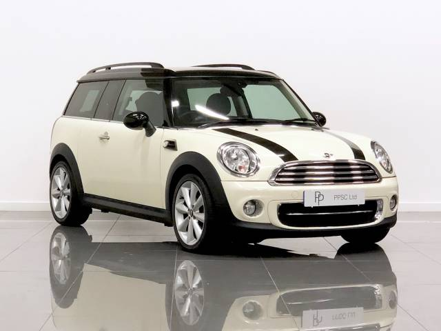 Mini Clubman 1.6 Cooper D 5dr Estate Diesel Pepper White at Phil Presswood Specialist Cars Brigg