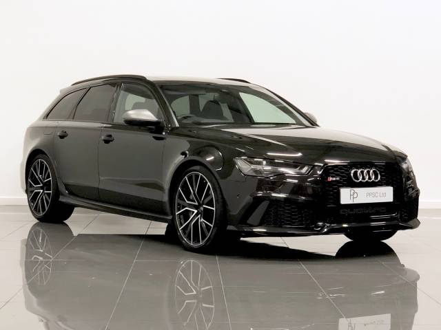Audi RS6 4.0T FSI Quattro RS 6 Performance 5dr Tip Auto Estate Petrol Black