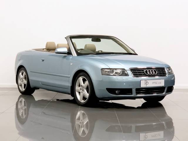 Audi A4 1.8T Sport 2dr Convertible Petrol Blue at Phil Presswood Specialist Cars Brigg