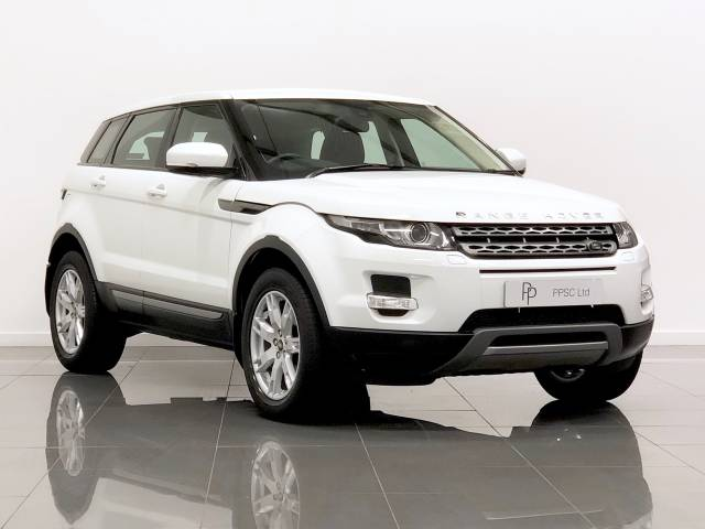 Land Rover Range Rover Evoque 2.2 TD4 Pure 5dr [Tech Pack] Estate Diesel White at Phil Presswood Specialist Cars Brigg