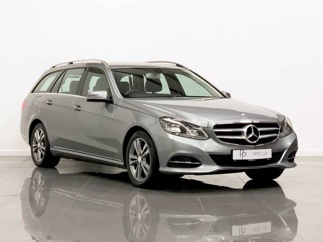 Mercedes-Benz E Class 2.1 E250 CDI SE 5dr 7G-Tronic Estate Diesel Silver at Phil Presswood Specialist Cars Brigg