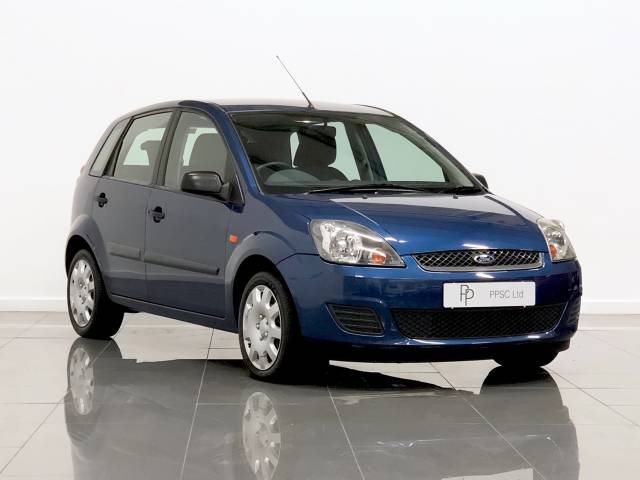 Ford Fiesta 1.4 TDCi Style 5dr [Climate] Hatchback Diesel Blue at Phil Presswood Specialist Cars Brigg